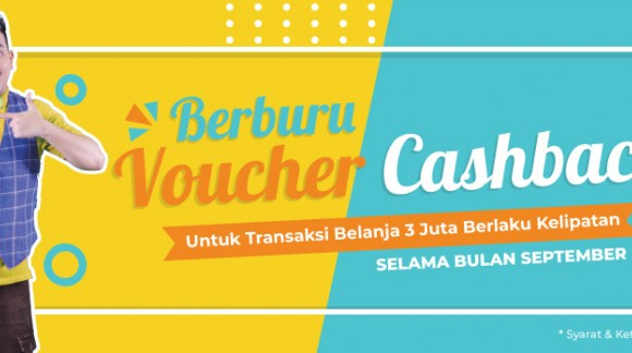 Promo Voucher Cashback - September 18