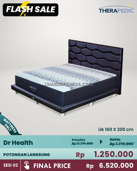 Springbed Therapedic dr. Health - Mattress Only [Flash Sale] Chandra Karya