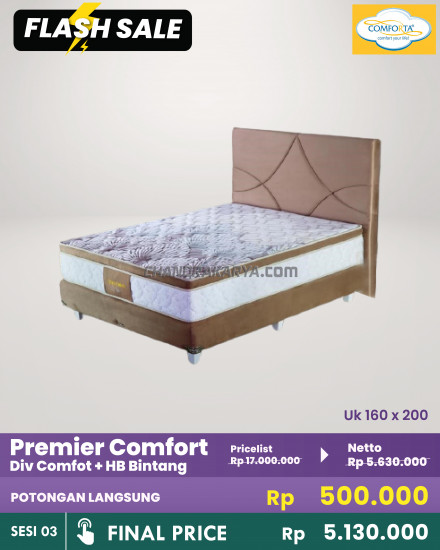 Comforta Premier Comfort - Full Set [Flash Sale] Chandra Karya