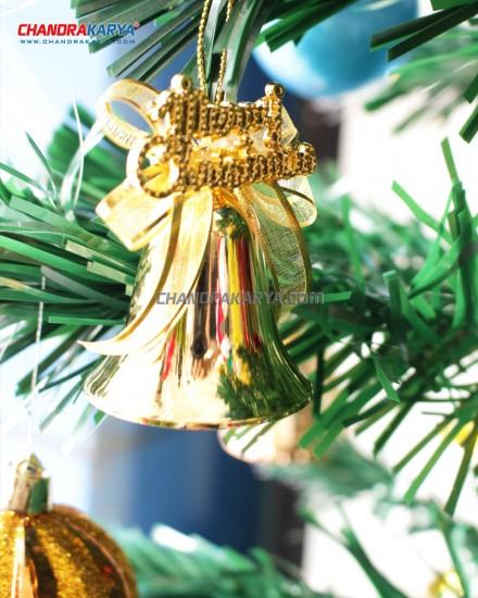 Hiasan Pohon Natal - TE18 Bell