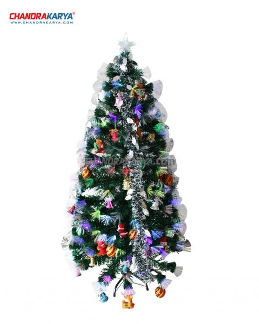 Pohon Natal 1.5m Fiber Optic Tree