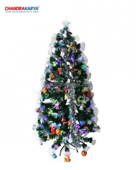 Pohon Natal 2.4m Fiber Optic Tree