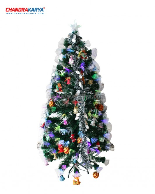 Pohon Natal 2.4m Fiber Optic Tree