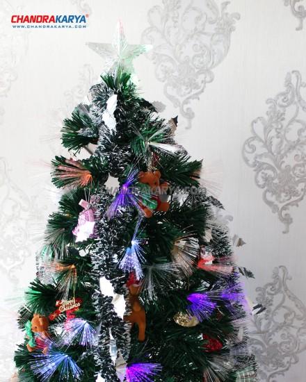 Pohon Natal 2.7m Fiber Optic Tree