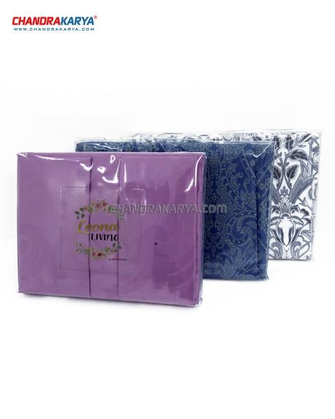 Sprei Set Bed Linen Leona - Bahan Cotton