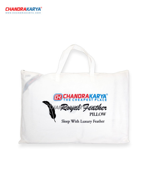 Chandra Karya Pillow - Royal Feather