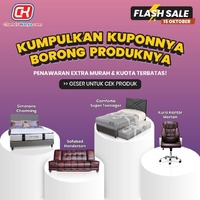 Temukan furniture incaran Anda di flashsale.chandrakarya.com untuk mendapatkan penawaran harga EXTRA MURAH dengan potongan langsung Rp 1.5 JUTA untuk 5 transaksi tercepat mulai jam 10.00 WIB pada Jumat, Sabtu dan Minggu ini!Dapatkan info selengkapnya di www.chandrakarya.com / 0899-0021-020 (WhatsApp Only) *S&K Berlaku#chandrakaryaofficial #chandrakarya #chandrakaryafurniture #ckproduk #belidichandrakarya #chandrakaryapramuka