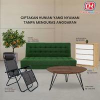 Memiliki rumah yang nyaman merupakan impian semua orang, karena itu Chandra Karya hadir untuk menjadi solusi tepat bagi Anda yang membutuhkan furniture berkualitas untuk mewujudkannya. Tersedia ratusan display furniture yang dapat disesuaikan dengan gaya interior Anda dan bisa Anda miliki dengan HARGA EKSTRA MURAH dengan tambahan promo menarik setiap bulannya.Segera kunjungi Chandra Karya / www.chandrakarya.com atau hubungi 0214212323 - 08981801800 (WA Bisnis) dan dapatkan produk incaran Anda dengan penawaran ekstra murah#chandrakaryaofficial #chandrakarya #chandrakaryafurniture #ckproduk #belidichandrakarya #chandrakaryapramuka