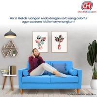 Jangan takut memilih sofa berwarna terang untuk ruangan Anda. Salah satunya Anda bisa memilih Sofa Damien berwarna biru ini untuk menghadirkan sentuhan suasana yang segar dan tidak membosankan di ruangan tempat Anda menghabiskan waktu bersama keluarga di rumah.Sofa Damien dapat menjadi pilihan yang tepat untuk Anda yang ingin menghadirkan nuansa baru di dalam rumah. Sofa ini dirancang menggunakan material yang kokoh serta penggunaan busa yang empuk untuk memberikan kenyamanan optimal, serta pilihan warna custom untuk disesuaikan dengan gaya interior hunian Anda.Sofa Damien 2 dudukan Rp 7.750.000 bisa Anda dapatkan dengan Harga Spesial hanya Rp 3.100.000 di seluruh gerai Chandra Karya / www.chandrakarya.com atau hubungi Call Center kami di 0214212323 - 08981801800 untuk mendapatkan penawaran menarik lainnya!#chandrakaryaofficial #chandrakarya #chandrakaryafurniture #ckproduk #belidichandrakarya #chandrakaryapramuka