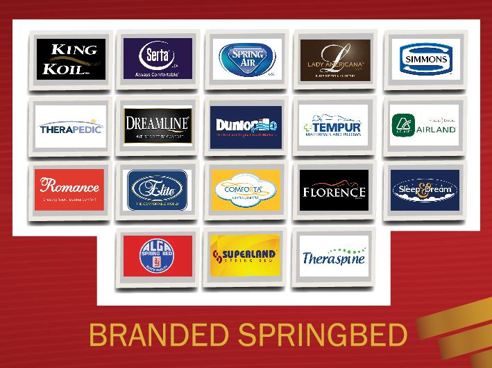 Branded Spring Bed