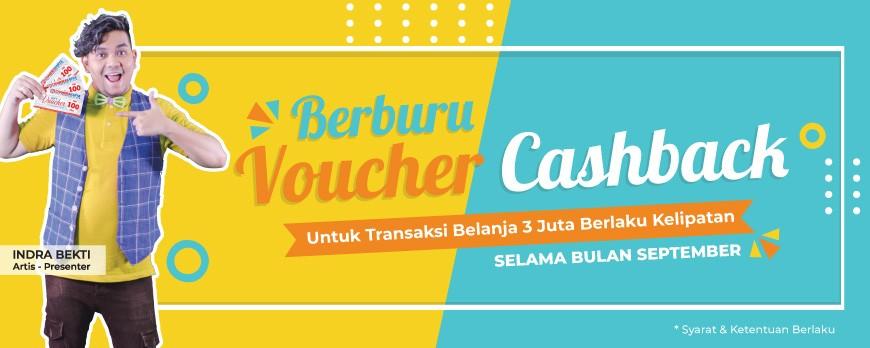 Promo Voucher Cashback - September 18