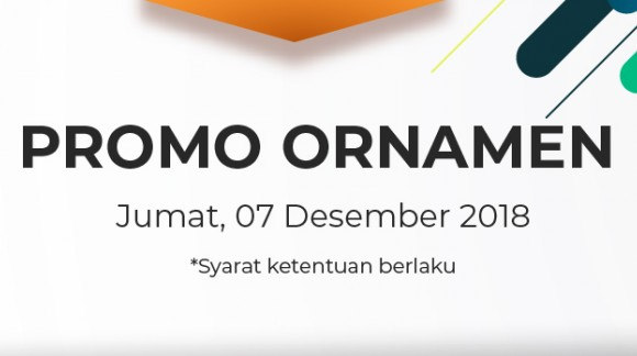 Promo Ornamen Jumat 07/12/18