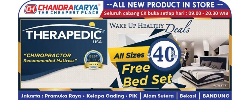 Promo Therapedic Minggu Ini